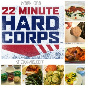 22 Minute Hard Corps Week One
