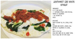 Southwest Egg White Omelet